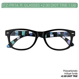 ZIPPO READING GLASSES +2.00 DIOT TRIE 1 Ud. 31Z-PR1A-200 [2006115]