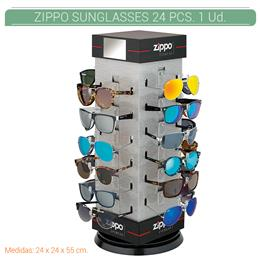 ZIPPO EXP. 24 PCS. POLARIZED SUNGLASSES PRE-PACK + DISPLAY 1 Ud. 2005475
