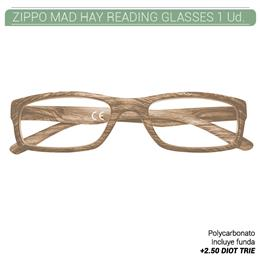 ZIPPO MAD HAY READING GLASSES +2.50 DIOT TRIE 1 Ud. 2005517