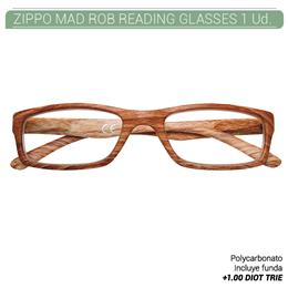 ZIPPO MAD ROB READING GLASSES +1.00 DIOT TRIE 1 Ud. 2005520