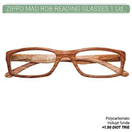 ZIPPO MAD ROB READING GLASSES +1.50 DIOT TRIE 1 Ud. 2005521