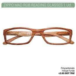 ZIPPO MAD ROB READING GLASSES +3.00 DIOT TRIE 1 Ud. 2005524