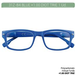 ZIPPO B-CONCEPT 31Z-B4 READING GLASSES BLUE +1.0 DIOT TRIE 1 Ud. 2004928