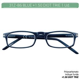 ZIPPO B-CONCEPT 31Z-B6 READING GLASSES BLUE +1.5 DIOT TRIE 1 Ud. 2004978