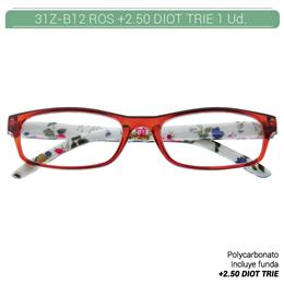 ZIPPO B-CONCEPT 31Z-B12-ROS250 READING GLASSES ROS +2.50 DIOT TRIE 1 Ud. 2005646