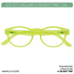 ZIPPO YELLOW READING GLASSES +1.50 DIOT TRIE 1 Ud. 31Z-B11-YEL150 230218 [2005620]