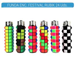 ATOMIC FUNDA ENC. FESTIVAL RUBIK 24 Uds. AT00007