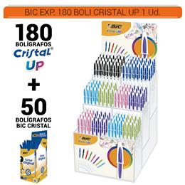 BIC EXPOSITOR CRISTAL UP 180 BOLIS 1 Ud.