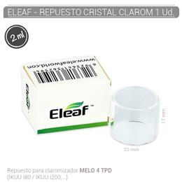 ELEAF  MELO 4 PYREX GLASS TUBE (2ml)  1 Ud.