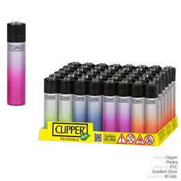 CLIPPER CP11 GRADIENT SILVER 48 Uds.