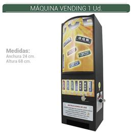 MAQUINA VENDING SIN PRODUCTO 1 Ud.