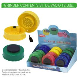 GRINDER 2 Part. ATOMIC VACIO 12 Uds. 02.12510
