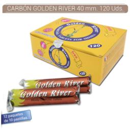 CARBON GOLDEN RIVER 40 mm. 100 Uds. 340020